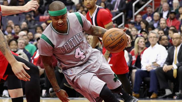 Thomas loodst Celtics met 41 punten langs Pistons