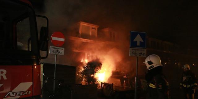 Boot uitgebrand in voortuin Utrechtse Jaagpad