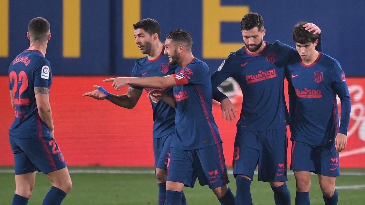 Koploper Atlético vergroot gat met 'Barça' weer, Lyon niet langs Marseille - NU.nl