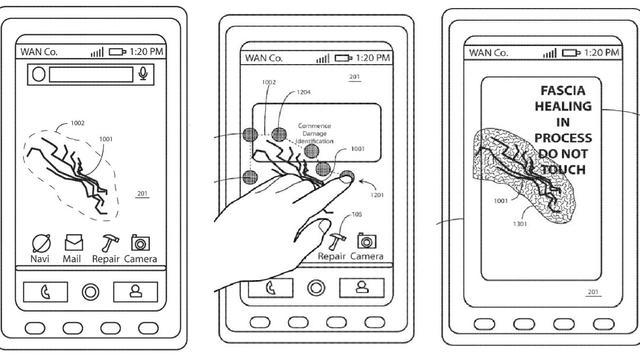 Afbeeldingen uit het patent