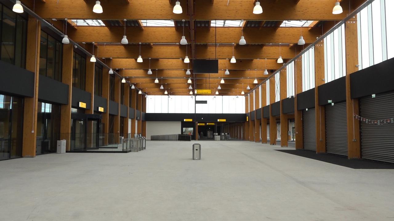 Bekijk het verlaten miljoenenproject Lelystad Airport