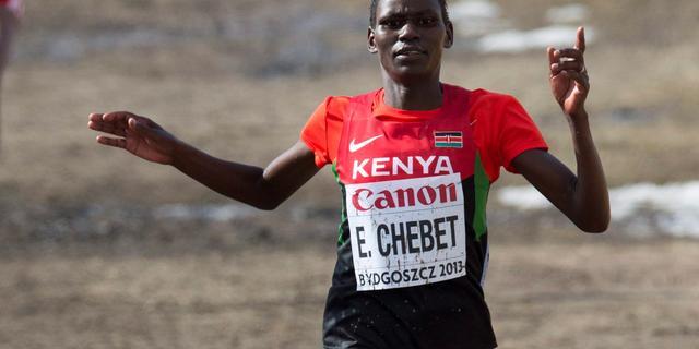 Keniaanse atlete Chebet voor vier jaar geschorst wegens doping
