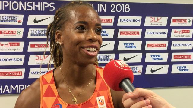 Samuel: 'Ben maar gaan chillen in halve finale 200 meter'