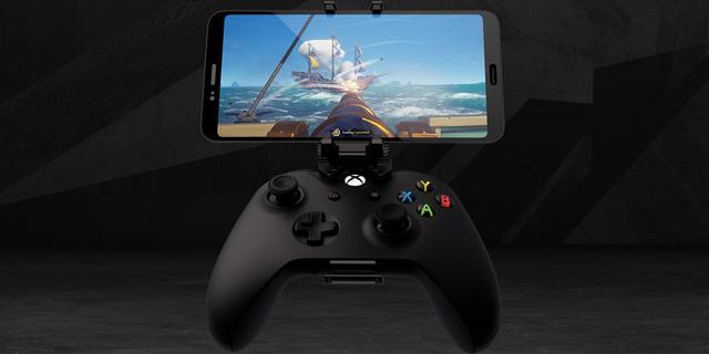 Microsoft maakt opzetstuk voor smartphone op draadloze Xbox-controller