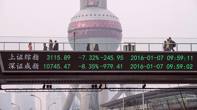 China verwacht zwakkere economische groei