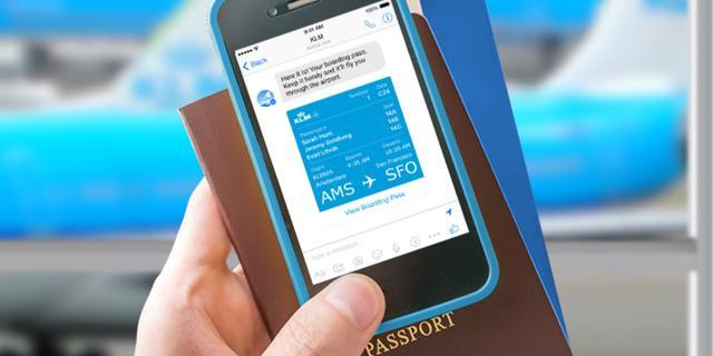 KLM laat klanten inchecken via Facebook Messenger