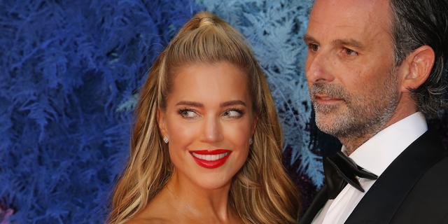 Sylvie Meis en man vieren eenjarig huwelijk in Spanje