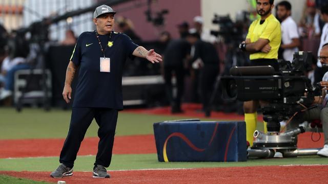 Maradona vertrekt bij Fujairah na mislopen directe promotie