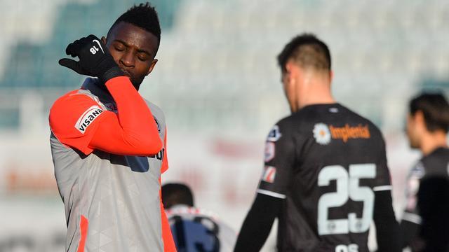 Spits Jean-Pierre Nsame is momenteel de uitblinker bij Young Boys.