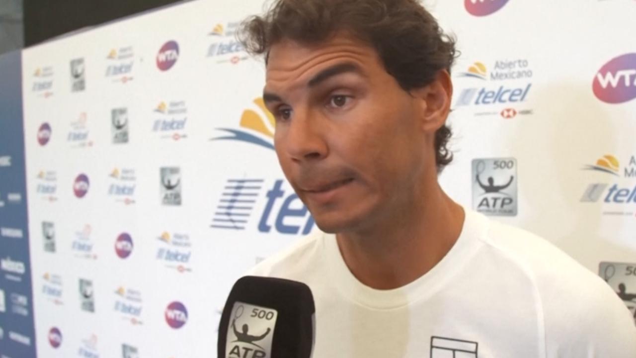 Nadal vertelt waarom hij afhaakt voor ATP-toernooi