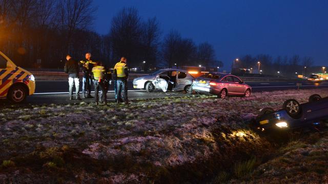 Eerste ongelukken in het noorden.