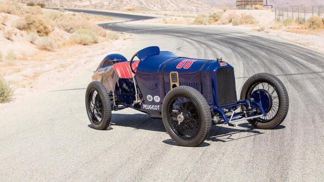 Peugeot uit 1914 brengt recordbedrag op
