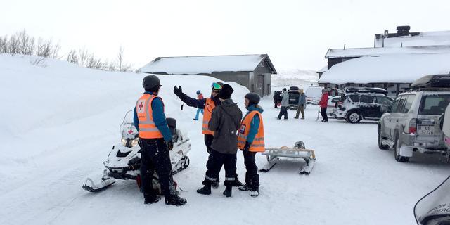 Dertien Nederlanders vermist in lawinegebied in Noorwegen