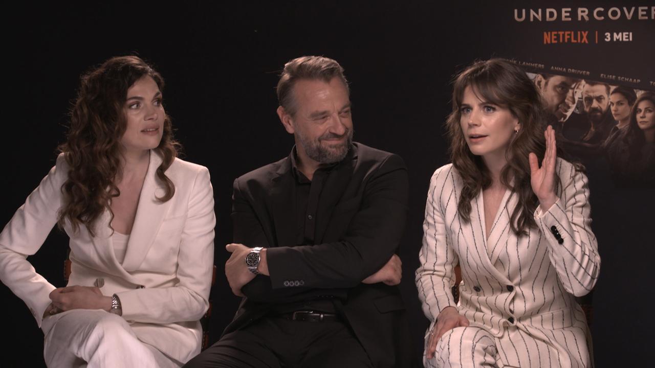 Cast Undercover: 'Dialecten leidden tot verwarring op de set'