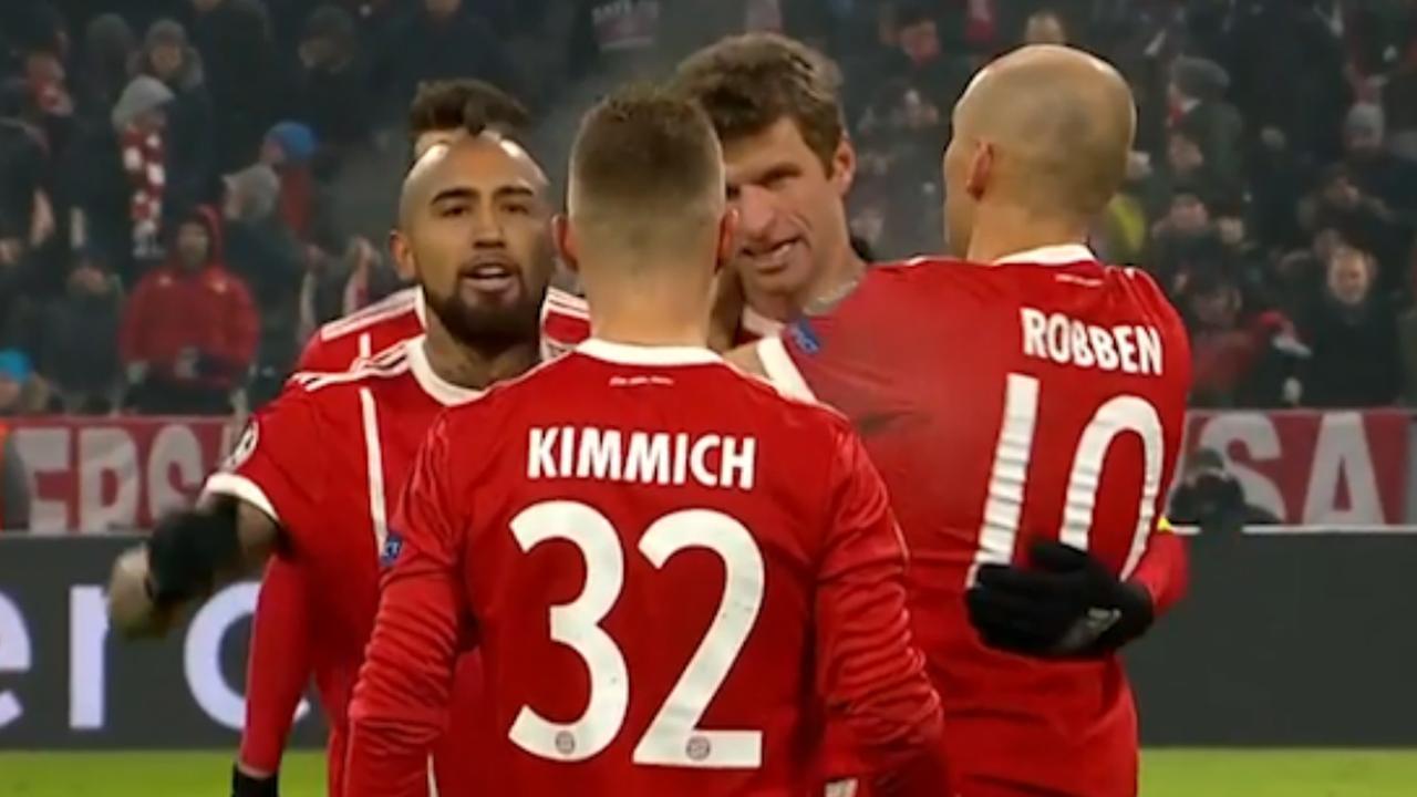 Samenvatting Bayern München-Besiktas (5-0)
