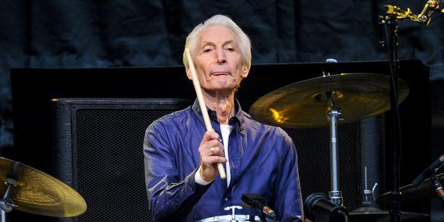 The Rolling Stones-drummer Charlie Watts niet op tournee vanwege gezondheid