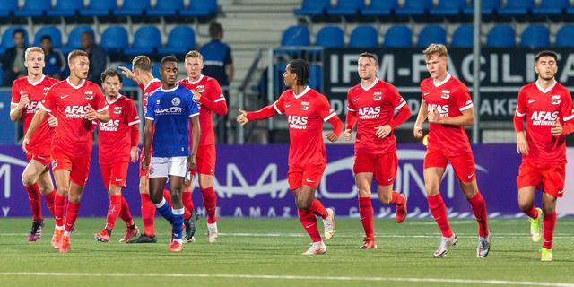 Jong AZ blijft ondanks verlies aan kop, Kudus scoort bij rentree voor Jong Ajax