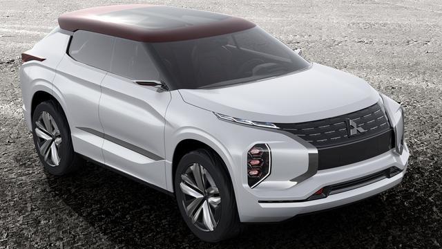 Mitsubishi GT-PHEV onthuld
