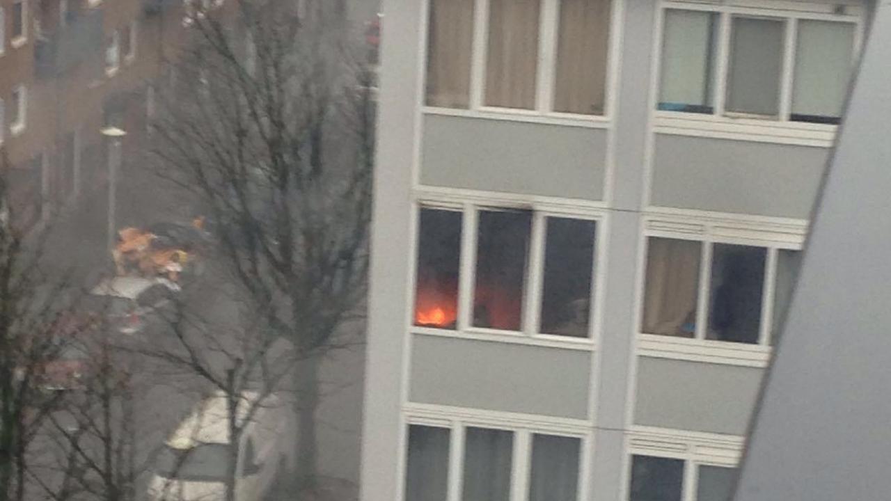 Rook bij slaapkamerbrand Osdorp