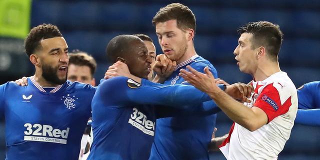 Slavia-speler Kúdela in beroep tegen tien duels schorsing vanwege racisme
