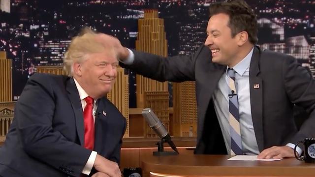 Jimmy Fallon 'helemaal kapot' door kritiek op Trump-interview