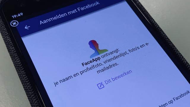 FaceApp stopt met verzamelen vrienden van ingelogde Facebook-gebruikers