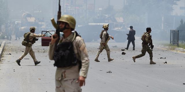 Afghaanse vice-president loopt in hinderlaag Taliban