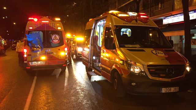 Tientallen gewonden na instorten plafond discotheek Madrid