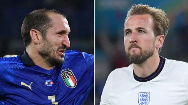 Voor zowel Giorgio Chiellini als Harry Kane lonken bijzondere statistieken.