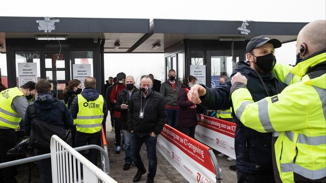 Ruim duizend fans van Almere City bezochten onlangs de wedstrijd tegen SC Cambuur bij een test van Fieldlab.