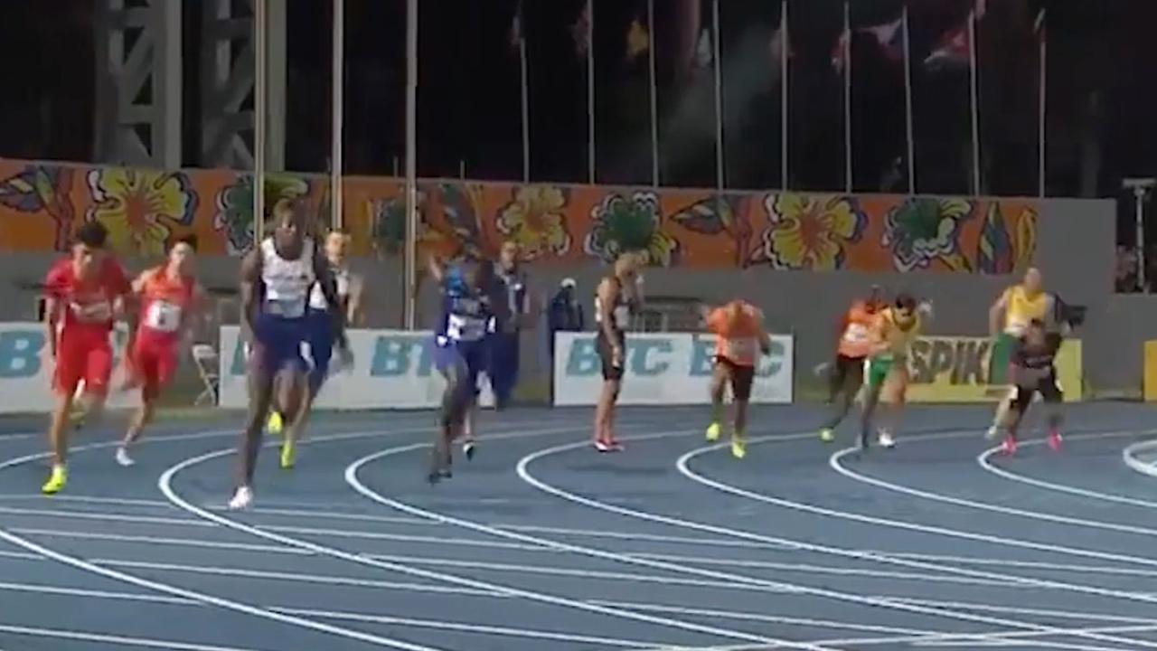 Nederlands mannenteam mist finish in finale WK estafette Bahama's