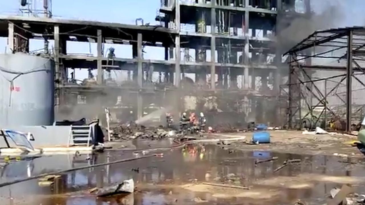 Veel schade na dodelijke explosie chemische fabriek China