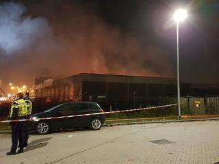 Brand veroorzaakte urenlange afsluiting van A20 op vrijdag