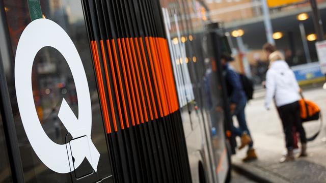 Bussen Qbuzz rijden in Groningen ondanks staking