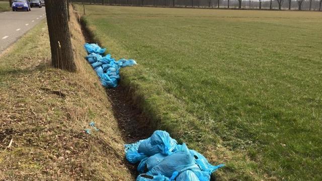 Drugsafval gedumpt op Landgoed Visdonk