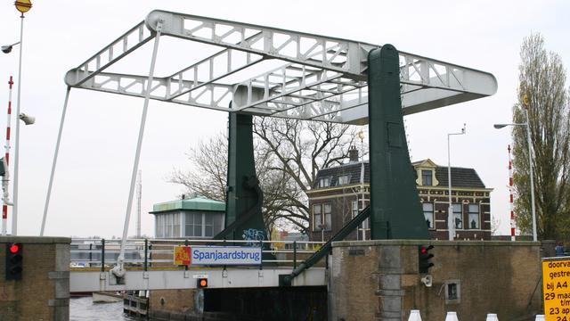 Spanjaardbrug tussen Leiden en Leiderdorp mogelijk autovrij