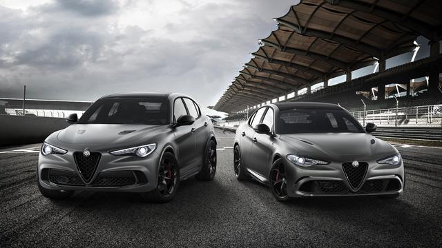 Nieuwe uitvoeringen Alfa Romeo Giulia en Stelvio
