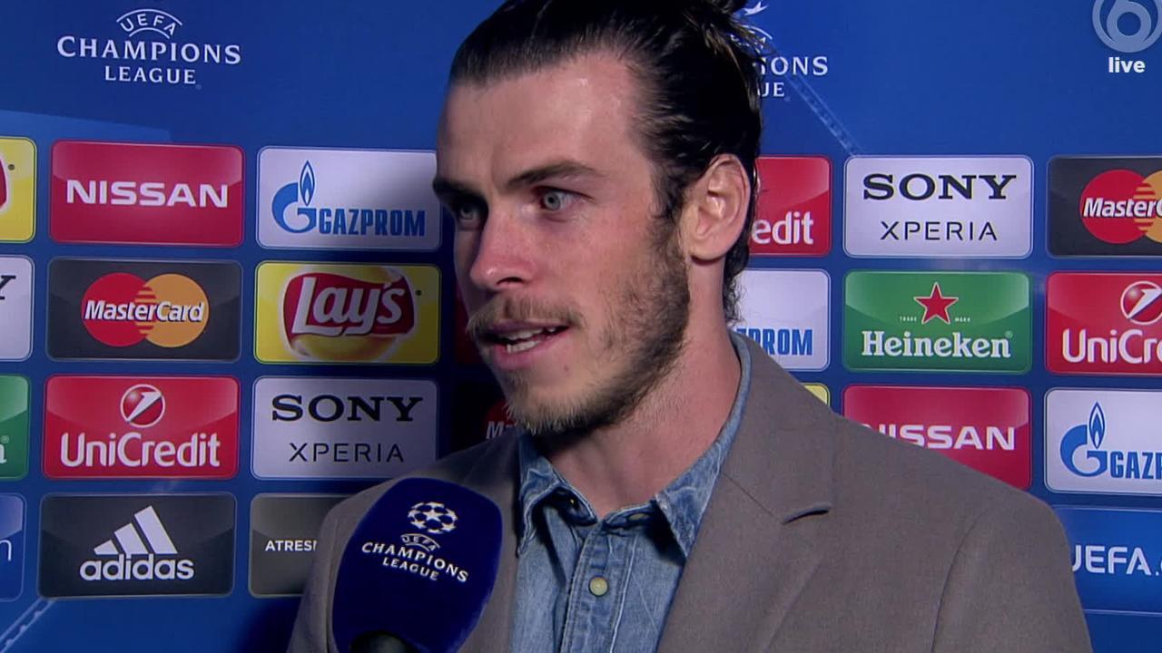 Bale: 'We hadden wat geluk nodig tegen Roma'