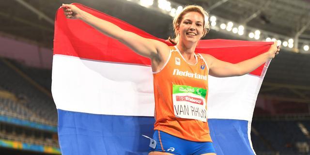 Drievoudig paralympisch kampioene Van Rhijn (29) beëindigt carrière per direct