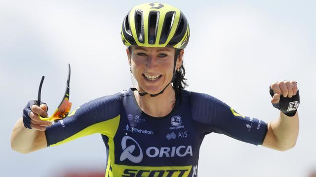 Leider Van Vleuten boekt tweede tijdritzege in Ladies Tour