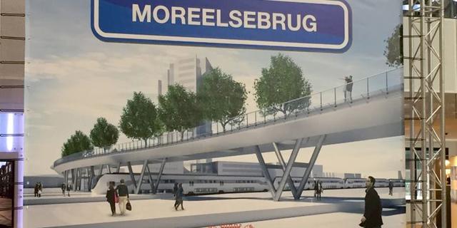 Geen aansluiting Moreelsebrug op Zuidgebouw