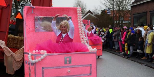 Zaterdag alsnog extra grote carnavalsoptocht in het Zeeuwse Lewedorp