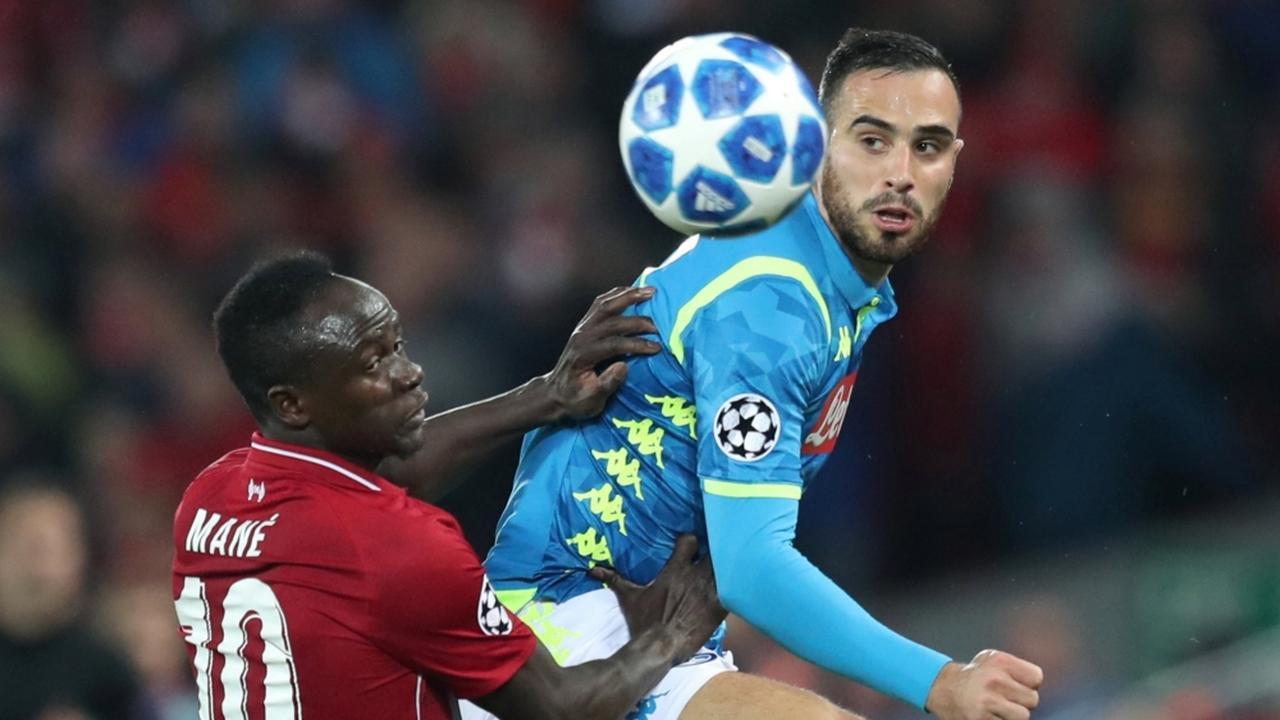 Samenvatting Liverpool-Napoli (1-0)