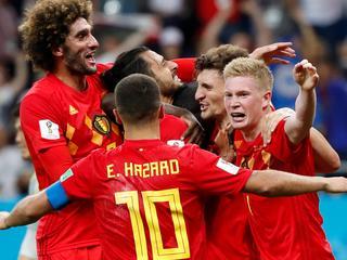'Rode Duivels' staan in kwartfinale tegenover Brazilië