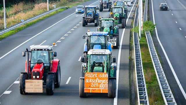 'Vooral jonge agrariërs schuwen radicale boerenprotesten niet'