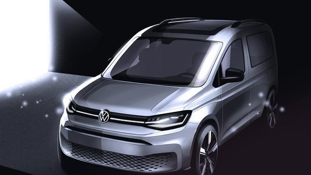 Volledig nieuwe Volkswagen Caddy in aantocht