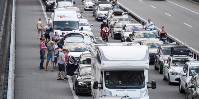 ANWB: Eerste avondspits van zomervakantie gekenmerkt door ongelukken