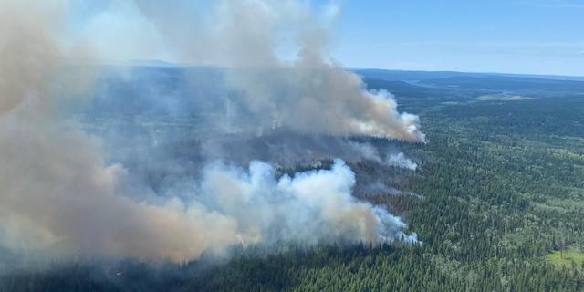 Hitte blijft Canada en VS teisteren: meer dan 400.000 hectare al in brand