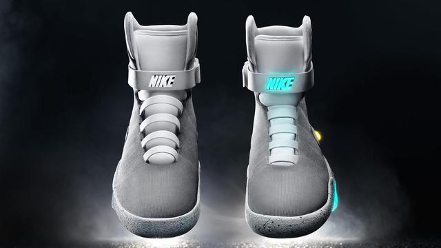 Nike komt met zelfstrikkende schoen uit Back to the Future