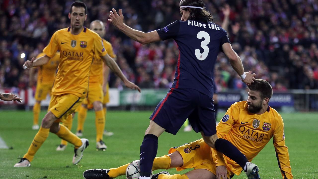 Filipe Luis blij met 'versierde' strafschop